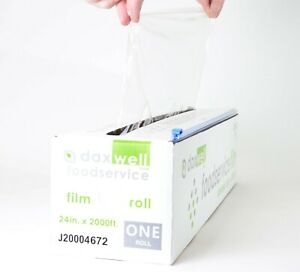 Cling Stretch Film Food Wrap Clear Strong 24 X 2000 7 484 Sold