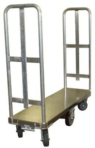 Bulk Delivery Cart With Two Handles With Brake System u boat 6 wheeler Rdt
