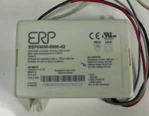 Erp Esp040w 0900 42 Led Driver Power Supply 120 277vac Dimmable