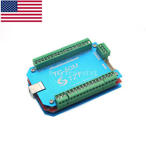 Cnc Usb Mach3 Control Board Driver 6 Axis Controller For Engraving Machine Us