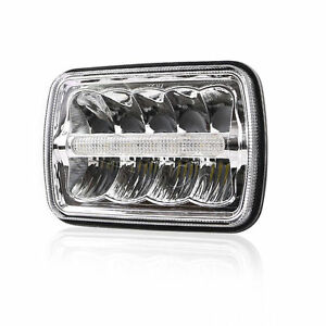 1x 5x 7inch Cree Led Replacement Headlight For Jeep Cherokee Xj H6054 H6014 H605