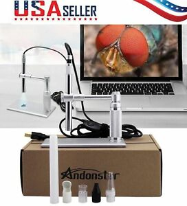 Andonstar 2mp Usb Digital Microscope Video Otoscope Endoscope Loupe Camera Gh