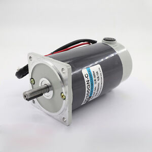 5d300gn c Dc12 24v 300w High Speed Adjustable Electric Motor Large Torque Cw ccw