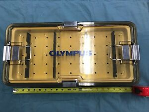 Olympus Autoclavable Sterilization Tray Surgical Instruments