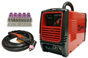 Plasma Cutter 50 Cons Simadre 50rx 50a 110 220v 1 2 Clean Cut Easy Power Torch