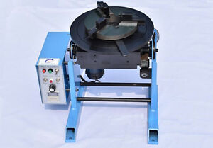 30kg Welding Positioner Turntable Timing With 300mm Chuck 110v Us Ca Y