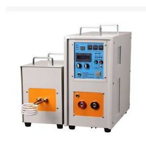 40kw 30 100khz High Frequency Induction Heater Furnace Lh 40ab