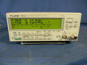 Fluke Pm6685 Frequency Counter With Options Pm9624 Pm9626 02 30 Day Warranty