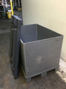 Collapsible Polypropylene Pallet Container Qty 10