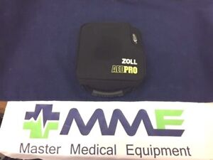 Zoll Aed Pro With Case Battery Pads Biomed Tested