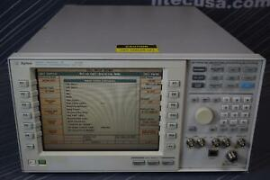 Agilent E5515b 002 003 8960 Series 10 Wireless Communications Test Set