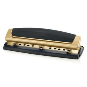 Swingline 3 Hole Punch Adjustable Two three Hole Puncher 10 Sheets
