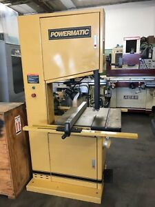 Powermatic 2013 3 20 Vertical Woodworking Wood Aluminum Band Saw