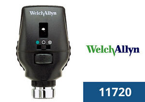 Welch Allyn 11720 l 3 5v Coaxial Ophthalmoscope W 28 Lenses 18 Apertures Led