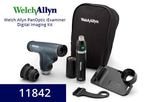 Welch Allyn Iexaminer Iphone Combo Set With Panoptic Head 11842 a6 led