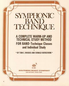 SYMPHONIC BAND TECHNIQUE FOR BASS CLARINET-MUSIC BOOK-BRAND NEW ON SALE-RARE!!
