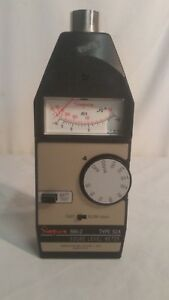 Simpson Sound Measuring System Model 884 2 Sound Level Meter Type S2a