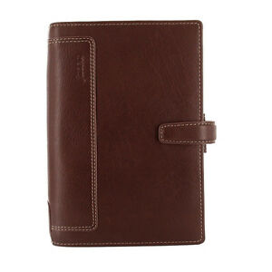 Filofax Personal Size Holborn Organiser Planner Diary Book Leather Brown 025120