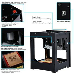 1500mw Bluetooth Laser Engraving Machine Depth Engrave F Wood plastic rubber Is