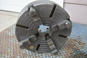 Used Bison 4 Jaw Chuck 15 3 4 Made In Poland