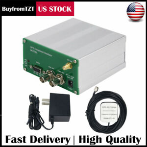 Gps Receiver Gpsdo 10mhz 1pps Gps Disciplined Clock W antenna Power Supply Us