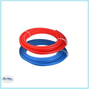 Potable Water Pipe Combo Red blue Pex Tubing Filtration 3 4 In X 100 Ft