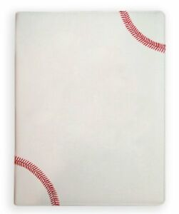 Zumer Sport Textured Baseball Portfolio With Authentic Red Stitching Soft And