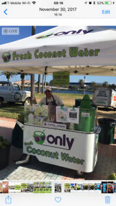 Restaurant Catering Food Truck Only Fresh Coconut Water Vending Carts