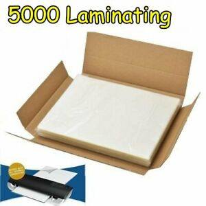 5000 pack 3 Mil Thick Letter Size Thermal Laminating Pouches 9 X 11 5 inches