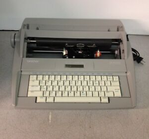 Brother Sx4000 Electronic Typewriter Missing Daisy Wheel ribbon top Cover