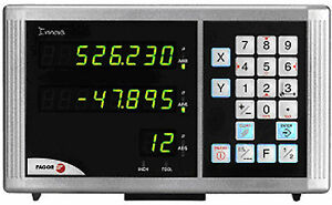 Fagor Digital Read Out Dro 14 X 30 Travel For Mills