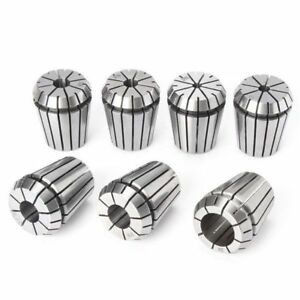7pcs Er32 3 16 To 3 4 Inch Spring Collet Set Chuck Collet For Cnc Milling Lathe