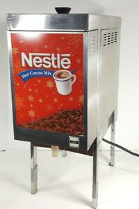 Cecilware Commercial Hot Cocoa Chocolate Machine Brewer Nestle Stainless Steel