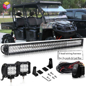 30 Led Work Light Bar Headlight Bobcat 553 751 753 763 773 Etc Ford New Holland