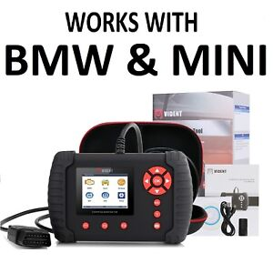 Diagnostic Scanner Tool Abs Srs Reset Code Reader Vident Ilink400 For Bmw Mini