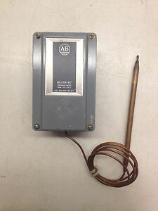 Allen Bradley Temperature Control Switch 837 a4j