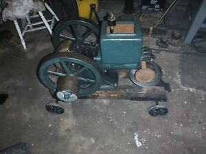 Old Stover K 1 1 2 Hp Hit Miss Old Engine Rare Engine Stationary Engine