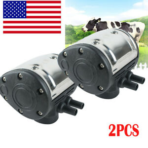 2pc L80 Pneumatic Pulsator For Cow Milker Milking Machine Dairy Farm Cattle Sale