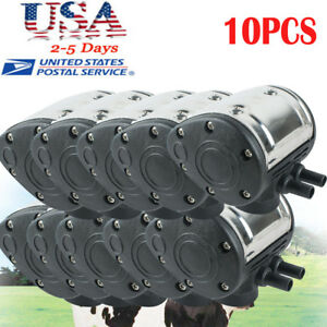 10pcs L80 Pneumatic Pulsator For Cattle Cow Milker Milking Machine Dairy Farm Ce