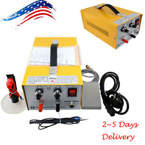 Us Ups 2in1 Jewelry Pulse Sparkle Spot Welder Electric Jewelry Welding Machine