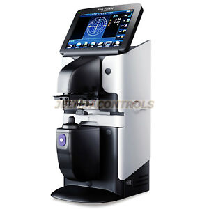 New 7 Touch Screen Optical Digital Auto Lensmeter Lensometer Pd Uv Print