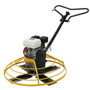 Power Trowel 48 With Honda Gx270 Oil Alert Brand New Comes With Pan Teqmac