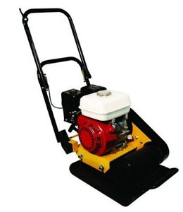 Vibratory Plate 140 Lbs 6hp Engine 15x17 Plate Size New Teqmac Equipment