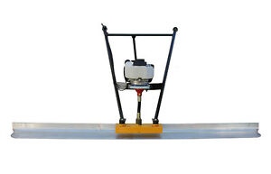 Vibratory Screed 9 8 Ft With Honda Gx35 Brand New Comes With Board Teqmac