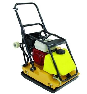 Vibratory Plate 220 Lbs 6hp Engine 17x25 Plate Size New 6 Mo Warranty Teqmac