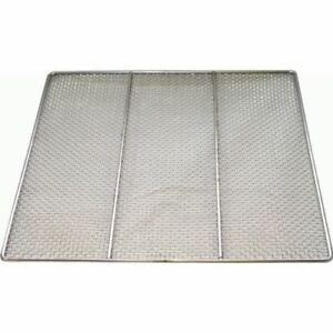 10 Pcs Stainless Steel Donut Frying Screen 23 x23 Dn fs23
