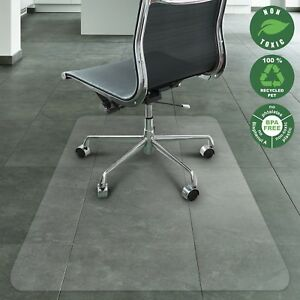 Computer Chair Mat For Carpet Hardwood Floor High Pile Heavy Duty Hard Large New