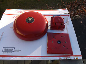 Simplex gardner audible signaling appliance fire alarm school bell system