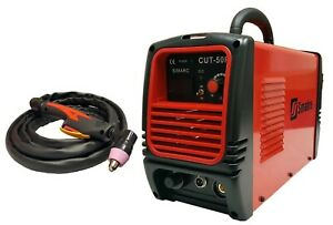 Plasma Cutter 50rx 110 220v 50 Amp 1 2 Clean Cut Simadre Power Torch New