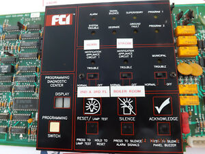 Fci 7200 Series Scu m System Control Unit Fire Alarm 1120 0469 With Special Chip